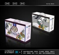 库尔勒香梨包装箱设计 PSD