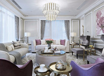 设计紧凑的客厅意向 JPG