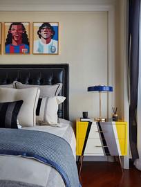 洋房卧室设计意向 JPG