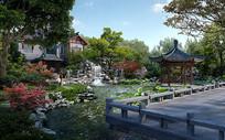 古典园林景观设计 PSD