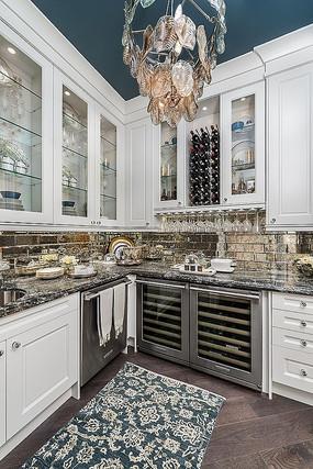 美式厨房的设计意向 JPG