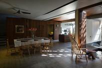 田园风餐厅的设计意向