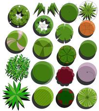 平面ps植物素材