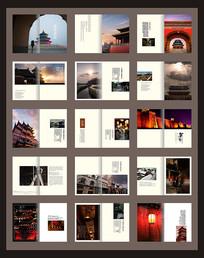 中国风古建筑画册