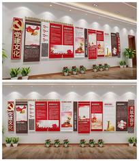 党建文化墙党员活动室设计