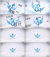 简洁文字Logo动画AE模板