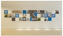 企业文化员工风采展厅照片墙