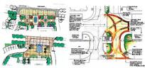 手绘景观规划图