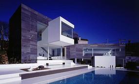 现代简洁别墅设计 JPG