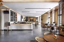 现代简约咖啡店设计 JPG
