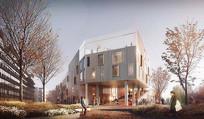 校园建筑设计意向 JPG