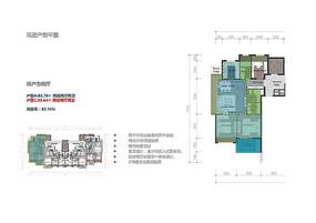 高层住宅室内户型图