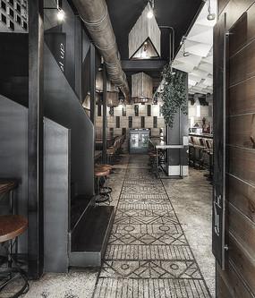 酒吧咖啡厅空间设计