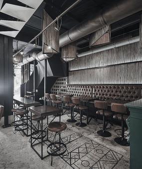 酒吧咖啡厅空间设计意向