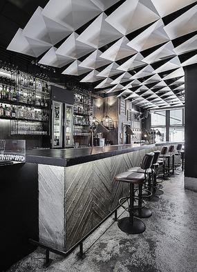 酒吧咖啡厅室内设计