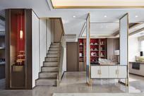 现代中式风格的装饰柜