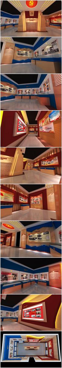 公安派出所警营文化展厅设计