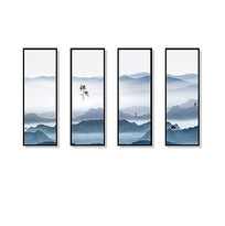简洁企业文化装饰画
