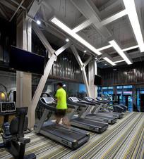现代健身房设计 JPG