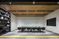 现代简约会议室设计 JPG