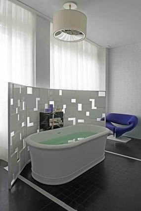 现代浴室的设计