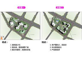 高档小区建筑景观平面设计