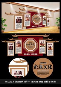 古典企业文化墙