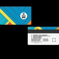 企业会员卡设计模版 PSD