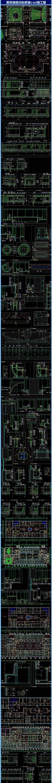 医院体检中心装修cad施工图