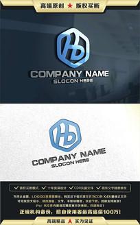 HB字母公司企业LOGO设计