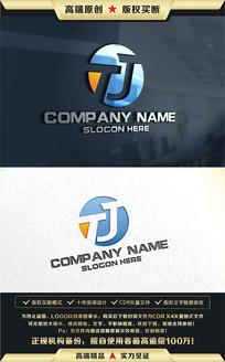 TJ字母原创标志LOGO设计
