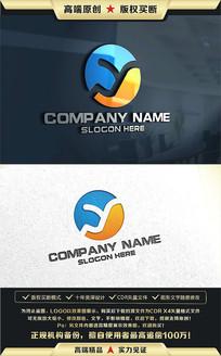 Y字母公司企业LOGO设计