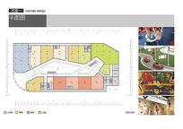 餐饮商业建筑二层平面图