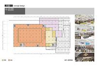 综合商场地下一层平面图