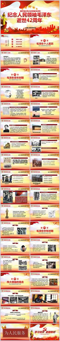 纪念毛泽东诞辰党建PPT