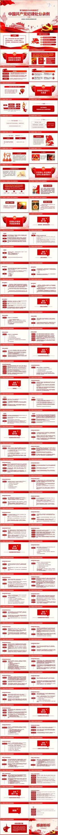中国共产党纪律处分条例党课PPT