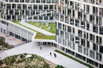 法国混搭办公楼屋顶花园