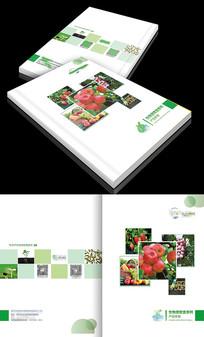 简约大气绿色生物画册封面