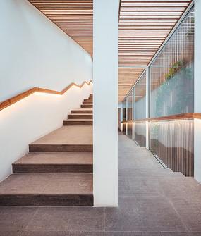 禅空间工作室楼梯意向