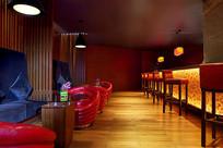 烈火的餐厅室内设计 JPG