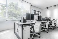 平面摄影办公室工作区