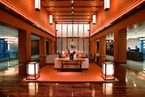 日式酒店等候区