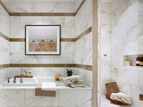 舒适实用浴室设计意向