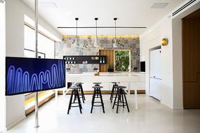 现代厨房餐厅设计意向