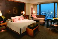 现代风格酒店卧室设计