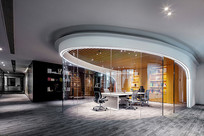 现代简约玻璃办公室