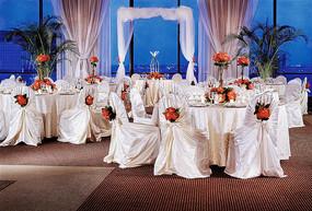 夏威夷风格室内婚宴设计
