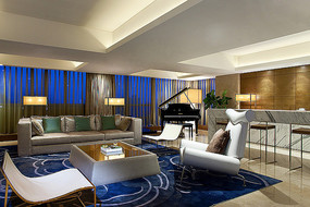 中式后现代客厅设计