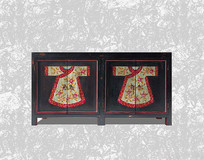 复古中式衣柜