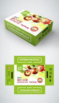 简约时尚冰糖心苹果礼盒包装